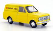 Miniature Bedford HA   Van jaune British Rail