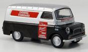 Miniature Bedford CA   Van noire grise metallisee Evening Standard Kasten