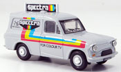 Ford Anglia miniature Van blanche Spectra Kasten