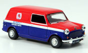 Austin Mini Van   rouge bleu BMC Parts Kasten Oxford