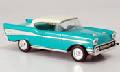Chevrolet Bel Air green blanchees Dach 1957