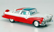 Ford Crown   Victoria rouge blanche 1955 Yat Ming 1/43