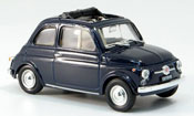 Fiat 500 F  blue geoffnetes Faltdach 1965