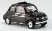 Fiat 500 F marron geoffnetes Faltdach 1965