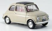 Fiat 500 F sandbeige  avec capote Faltdach 1965