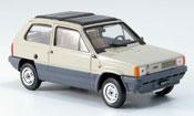 Fiat Panda 45 beige  avec capote Doppelfaltdach 1981