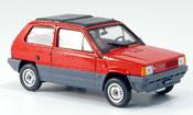 Fiat Panda 45 red  avec capote Doppelfaltdach 1981