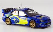 Subaru Impreza WRC  no.5 solberg mills rallye mexico 2006 IXO 1/43