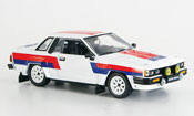 Nissan 240 miniature RS blanche rouge noire Ready to Race 1985