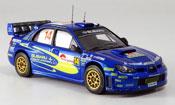 Subaru Impreza WRC  no.14 arai  sircombe rallye japan 2006 IXO 1/43
