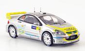 Peugeot 307 miniature WRC no.19 bengue escudero racc catalunya 2006