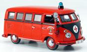 Volkswagen Combi   t 1 bus berufspompier solingen Schuco