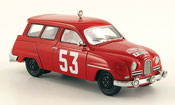 Saab 95 miniature No.53 Rallye Monte Carlo 11