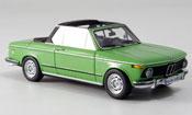 Bmw 2002 Tii E10 Baur Cabrio green 1974