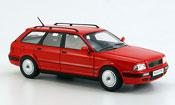 Audi 80 miniature (B 4) Avant rouge