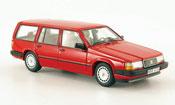 Volvo 940 miniature GL Kombi rouge 1992