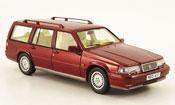 Volvo 960 miniature Kombi rouge 1992