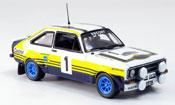 Miniature Rallye Ford Escort MK2 No.1 Sieger Arcp.  Rallye 1979