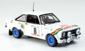 Ford Escort miniature MK2 No.8 Zweiter Portugal 1978