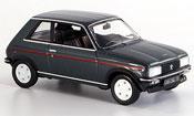 Peugeot 104 miniature zs2 grise 1979