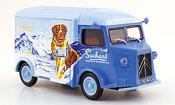 Citroen Type HY miniature lieferwagen suchard 1966