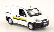 Fiat Doblo miniature blanche Italienische Post 2006