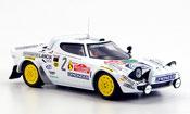 Lancia Stratos Rallye  hf no.2 tony mannini sieger san remo 1979 IXO 1/43
