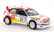 Toyota Corolla miniature wrc no.31 rallye finnland 2000