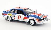 Nissan 240 miniature RS No.12 Vierter Rallye Safari 1983