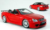 Mercedes CLK AMG DTM cabriolet rosso