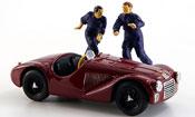 Ferrari 125 zwei figuren 1947