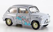 Fiat 600   Raid Rom Kalkutta 13260 km in 11 Tagen 1955 Brumm