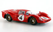 Ferrari 330 miniature P4 no.4 1000 km monza r. lodovico 1967