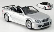 Mercedes CLK miniature DTM AMG grise metallisee