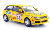 Fiat Stilo No.38 giallo Rallye