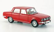 Alfa Romeo 1750 miniature GTV rouge 1968