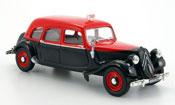 Citroen Traction miniature 11 noire rouge taxi  familiale 1955