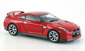 Nissan Skyline R35  GT R rouge 2007 Ebbro 1/43