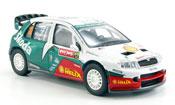 Skoda Fabia WRC evo ii hirvonen rally japan 2005