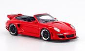 Gemballa GTR miniature 500 Avalanche rouge Verdeck geoffnet