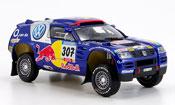 Miniature Paris Dakar Volkswagen Touareg no.307 paris dakar 2005