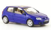 Volkswagen Golf V  blu 3 portes Schuco