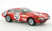 Ferrari 365 GTB/4  no.57 nart 24h le mans 1972 Red Line