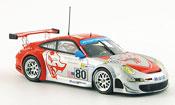 Porsche 997 GT3 RSR 2008  Flying Lizard Le Mans Minichamps