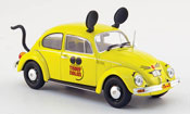 Volkswagen Coccinelle 1200 giallo truly nolen pest control 1983