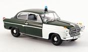 Borgward Isabella police Frankfurt 2turer 1959