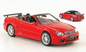 Mercedes CLK miniature DTM AMG  Cabriolet  rouge