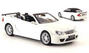 Mercedes CLK DTM  AMG Cabriolet blanche Kyosho