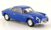 Miniature Lancia Appia   gte zagato bleu 1961