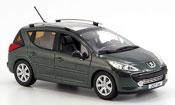 Peugeot 207 SW miniature grise 2008